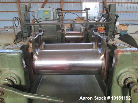 Used- Thropp 2 Roll Mill