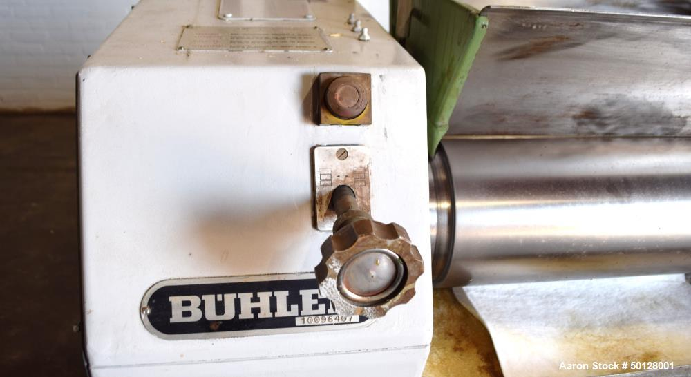 Used- Buhler 3 Roll Mill, Model SDX