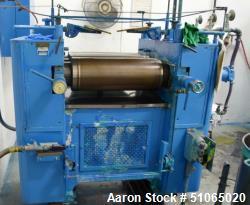 """Kent 9"""" x 24"""" Small Production Three Roll Mill"""