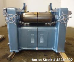 Used- J.H. Day Horizontal Three Roll Mill, Model 1.