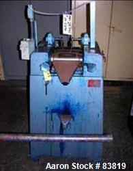Used- Keith Machinery Horizontal Three Roll Mill, model 4X8