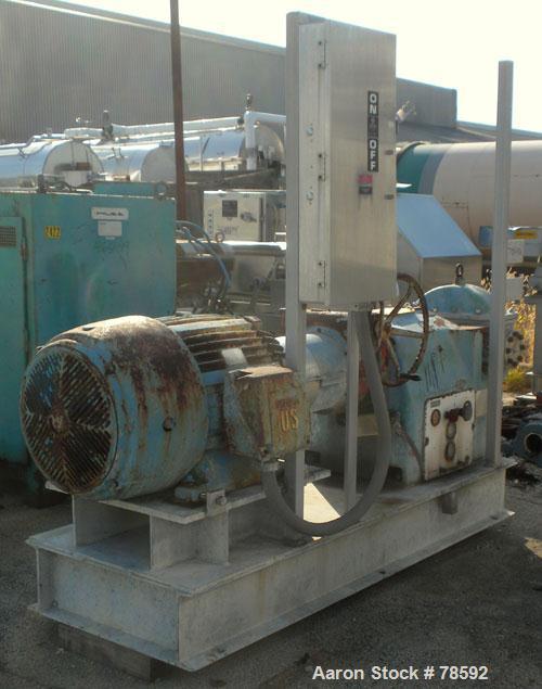 Used- Asplund Raffinator Pulverizer, Type ROP