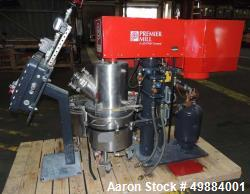 Used- Premier Model PSM-25, 10 HP Mill Motor, 2 HP Mixer Motor