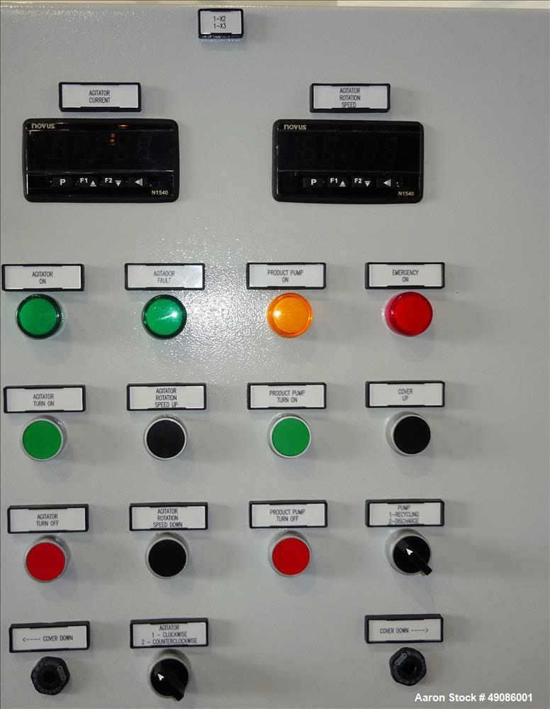 Unused- Netzsch Attritor Vertical Batch Mill, Model PRK 32-S