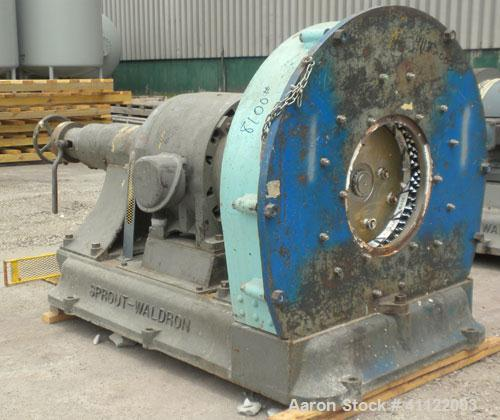 Carbon Steel Grinding Company New Zealand: Used- Sprout-Waldron Single Runner Attrition Mill