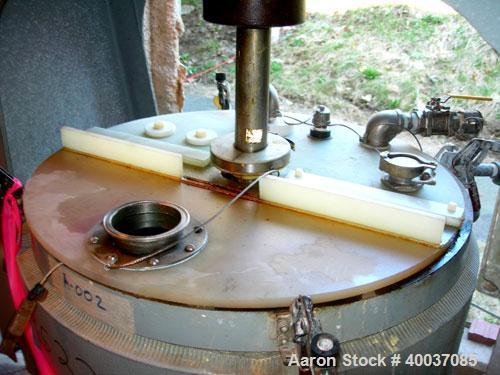"""Used: Union Process Szegvari Intermitten Attritor, Type B, Size 30S. 24"""" x 27"""" jacketed stainless steel grinding chamber. 2""""..."""