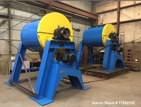 Unused- Patterson Industries 5' Diameter x 6' Long Ball Mill