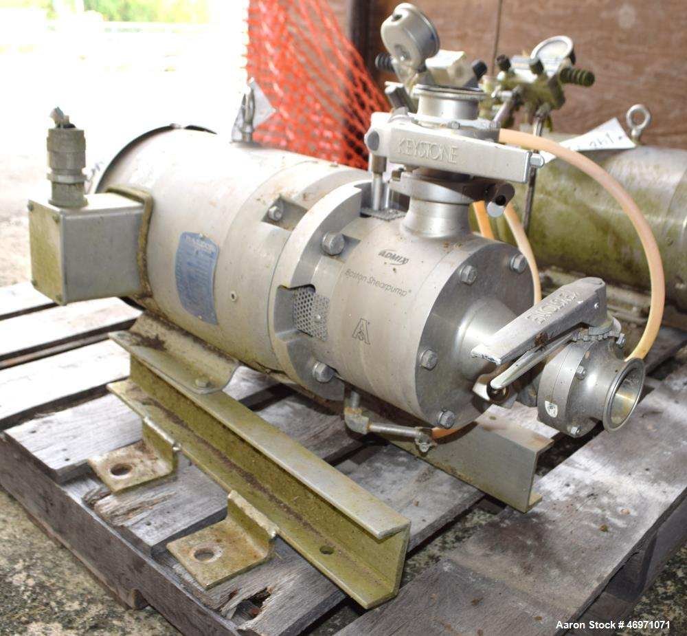 Used- Admix Boston Shearpump, Model BSP 24C, Stai