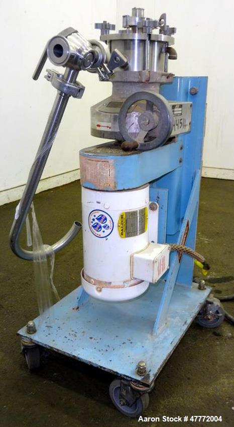 Used- Greerco Vertical Colloid Mill, Model W250VB