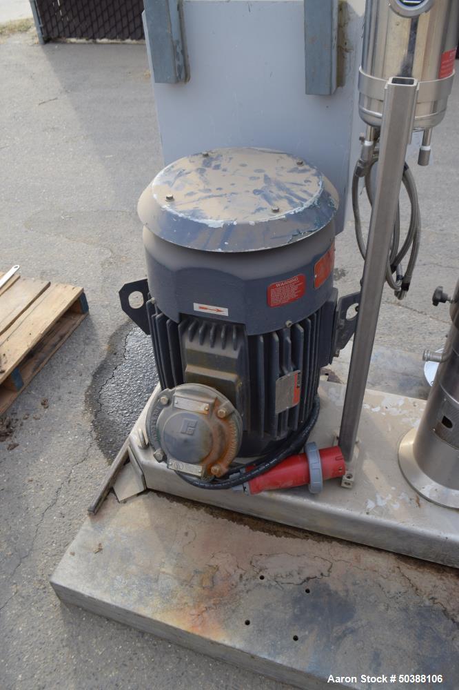 Used- IKA Works Dispax Reactor/High Shear, High Speed Disperser
