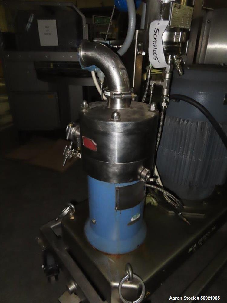 Used- IKA Works Dispax Reactor High Shear Inline Disperser, Model DR 2000/20
