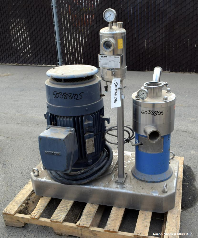 Used- IKA Works Inline Dispax Reactor Mixing/Homogenizing/Dispersing, Model MHD/