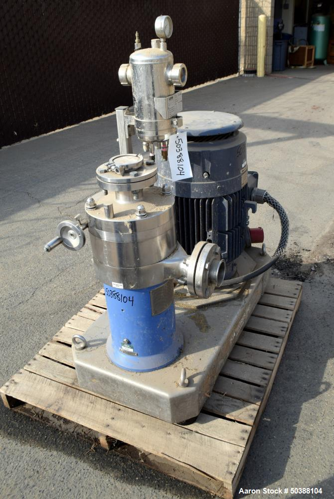 Used- IKA Works Inline Colloid Mill, Model MK 2000/20