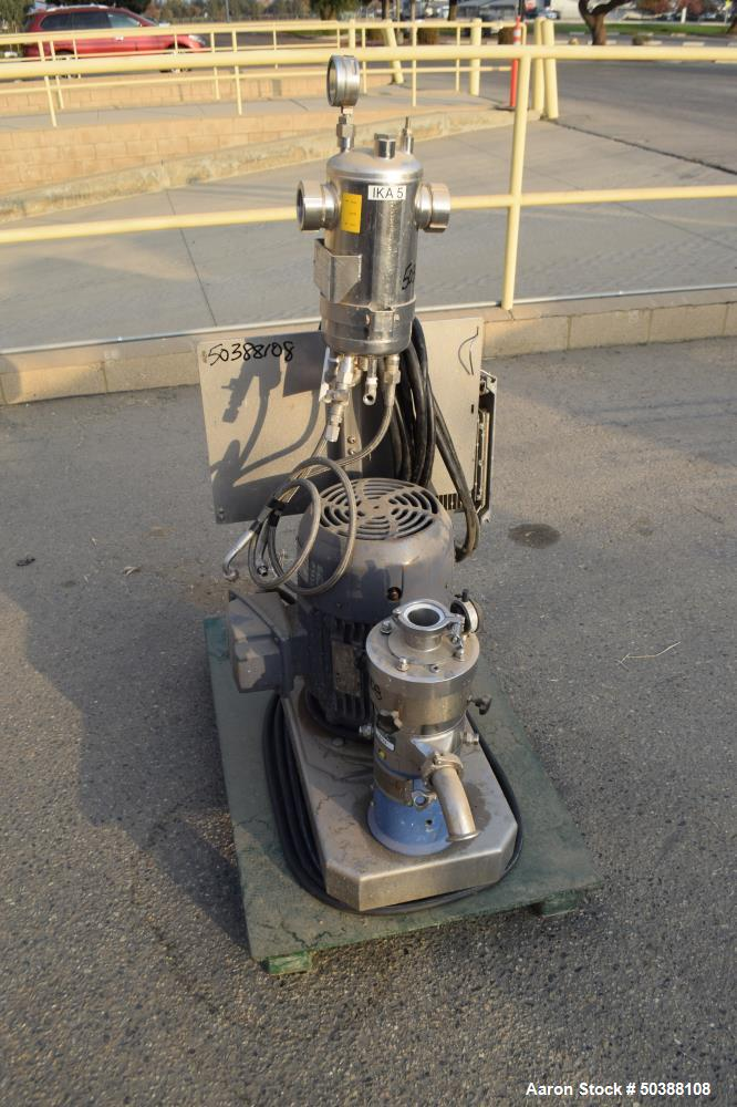 Used- IKA Works Inline Colloid Mill, Model MK 2000/5