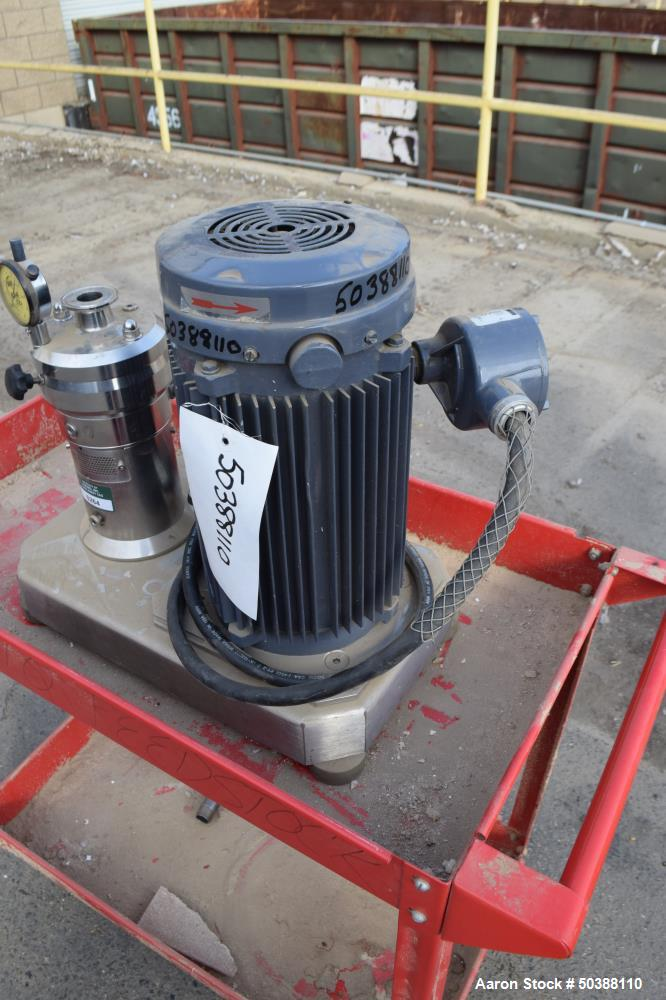 Used- IKA Works Colloid Mill, Model MK 4