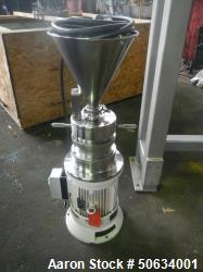 Used- Fryma Koruma Colloid Mill, Model MZ 80