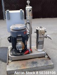 IKA Works Dispax Reactor/High Shear, High Speed Disperser, Model DR 2000/10, Stainless Steel. Nomin...