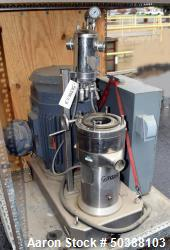 IKA Colloid Mill. Model MK 2000/20. Driven by a 60hp, 3/60/460 volt, 3560 rpm XP motor. Base mounte...