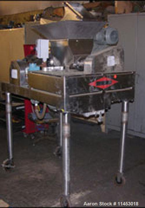 Unused-Used: DAS06 Fitzpatrick Fitzmill, all stainless steel construction including housing, rotor, feed, guards, base and l...
