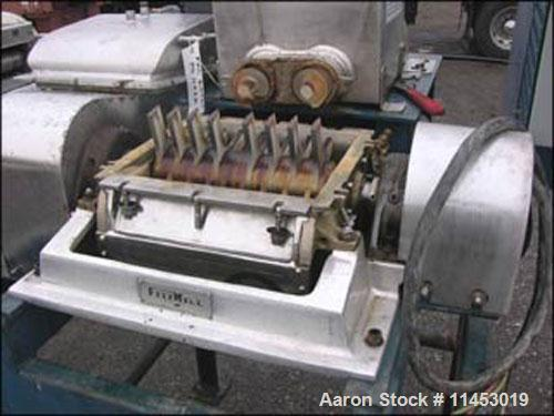 Used: Fitzpatrick Fitzmill model DKA012