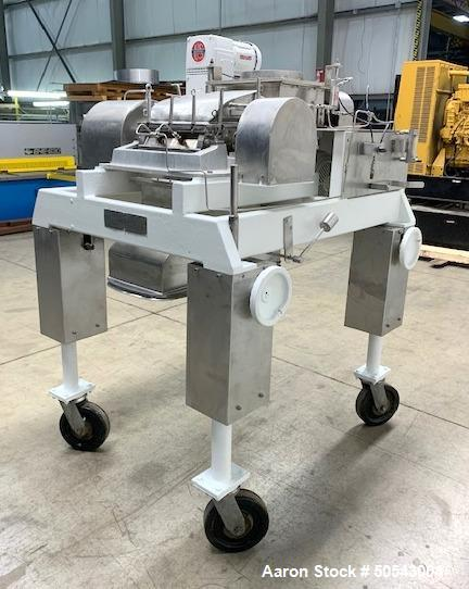 Used- Fitzpatrick Fitzmill, Model DKASO-12, 316 Stainless Steel.