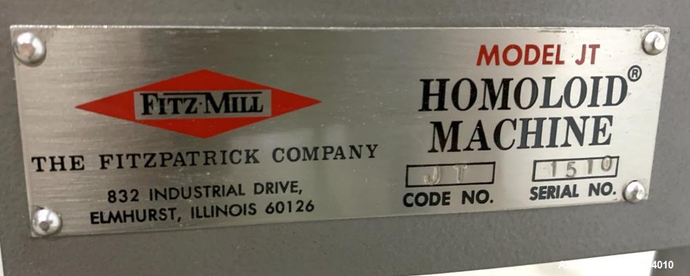 Fitzpatrick JT Homoloid Mill