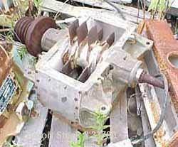 """USED: Fitzmill model F pulverizer. 304 stainless steel body, 8"""" x 15"""" feed opening, (24) mild steel bolt-on knife rotor. Uni..."""