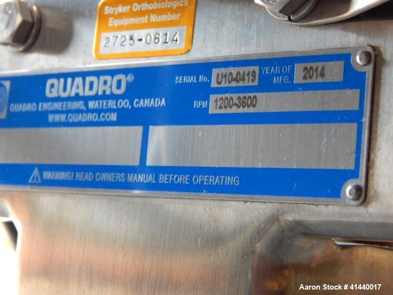 Used- Quadro Mill, Model U10