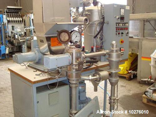 Used-Alpine Flexible R & D/Lab Jet Mill System, Type 100AFG