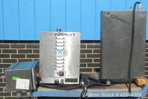 Used- Fluid Air Granumill Jr., 316 Stainless Steel