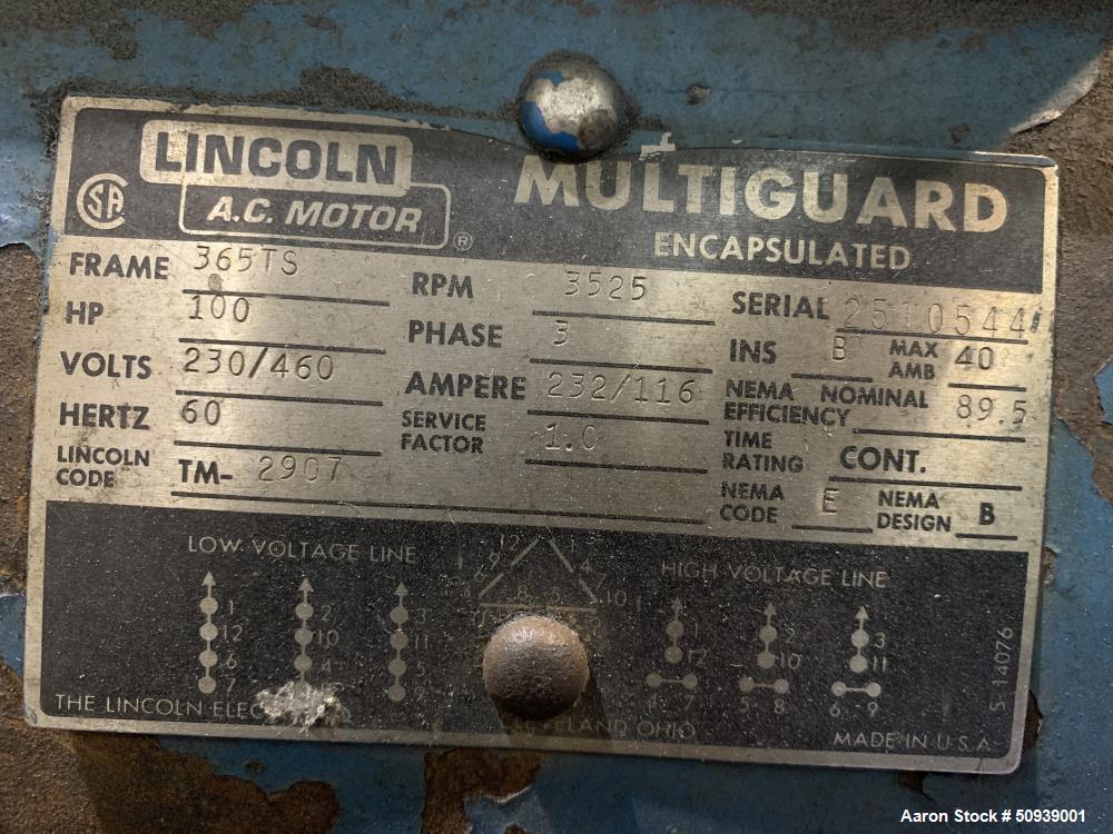 Used- Salem Hammermill, Model 166