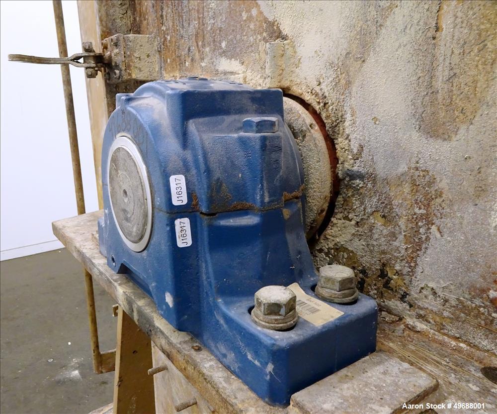 Used- Bliss Eliminator Hammer Mill, Model E 4430 TF, Carbon Steel.