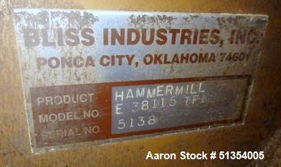 Bliss Eliminator Hammer Mill