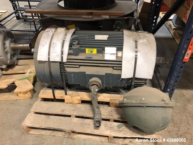 Used- Bliss Hammer Mill Model ED-3848-TFA.