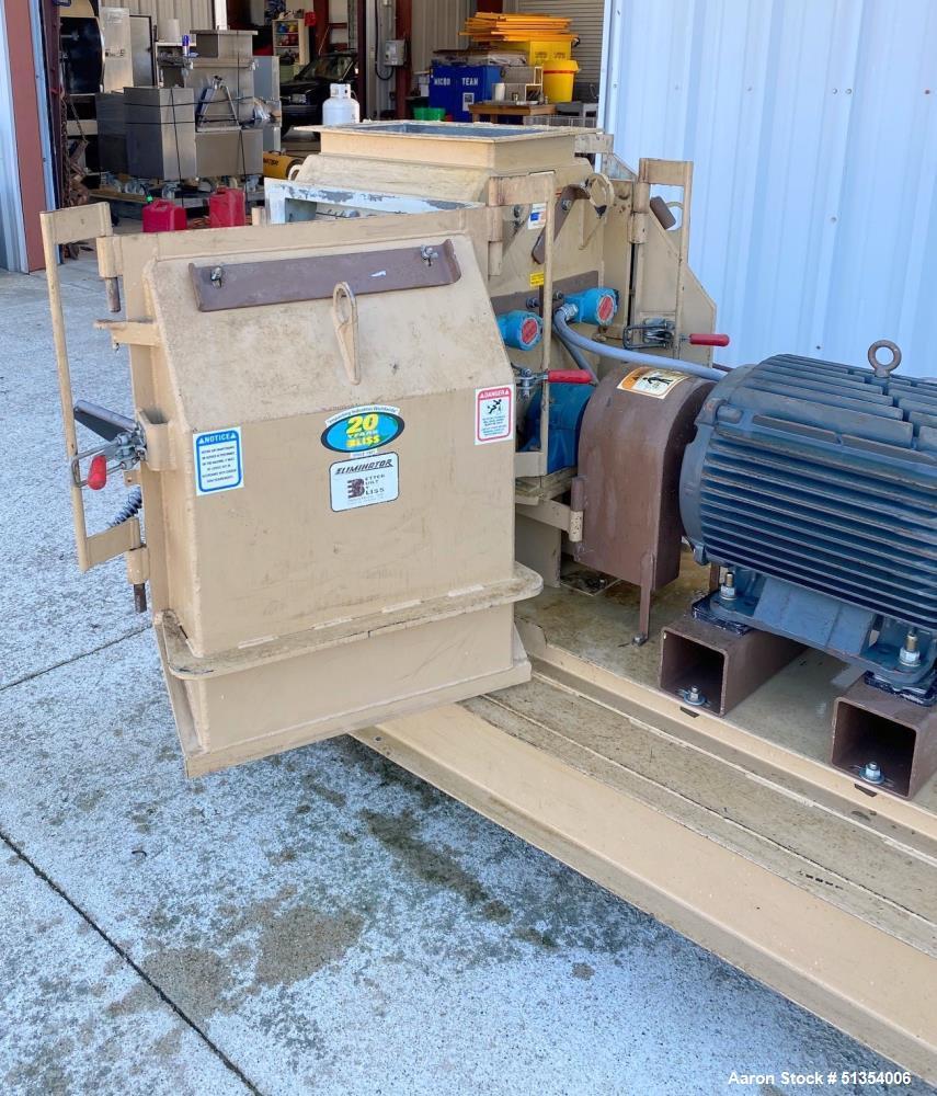 Used- Bliss Eliminator Model ER2220 Hammer Mill