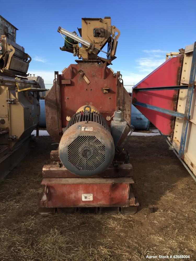 Used- Bliss Hammer Mill; Model IE-4436-TFA