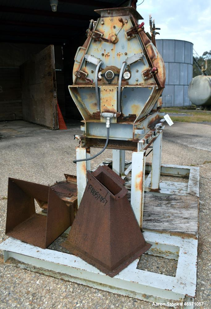Used- Champion Tear Circle Hammermill, Model 15X22