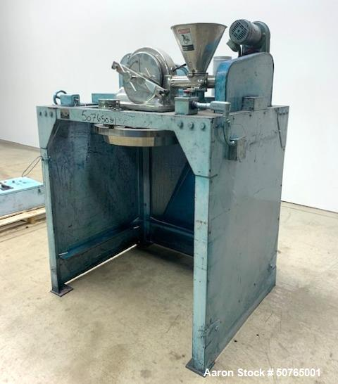 Used- Fuji Paudal Hammer Mill, Model EAW-5