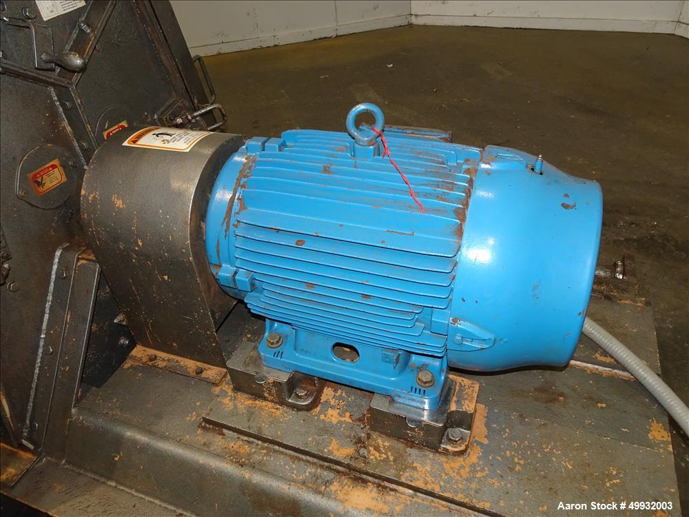 Used- Jacobson Hammer Mill, Model XLT 24320, Carbon Steel.