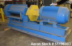 """Hammer Mill, Carbon Steel. Approximate 14"""" diameter x 33"""" wide rotor with approximate 1-3/8"""" thick s..."""