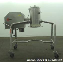 Used- Glatt Rotor Cone Mill, Model GSF300, 316 Stainless Steel.