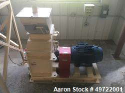 "Unused-Schutte-Buffalo Hammermill, Model 24-15. 50 HP Motor. 3/60-230/460 volt, 3600 RPM, TEFC. 15"" wide rotor. 900 square i..."