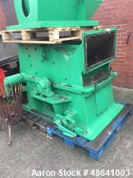 "Used- Hosokawa, Alpine AG Hammer Mill/Granulator, Type 80/63 HA. 24.6"" diameter 31.2"" straight side (630 mm diameter x 800 m..."