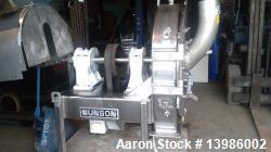 Used- Munson Attrition Mill, Model SK-30-SS