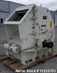 Used- Stedman Machine Co. Horizontal Impact Crusher