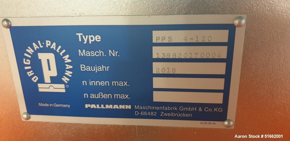 Used-Pallmann Maschinenfabrik GmbH & Co. KG Contra Selector Mill