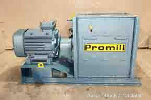 Used-Promill HG 83 Hammer Mill, rotor equipped with 48 hammers, main motor 125 hp, 380V/50 hz, 2950 rpm, rotor diameter 28.3...