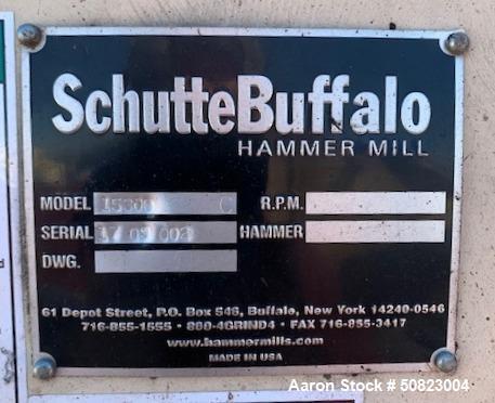 Used- Schutte-Buffalo 15 Series Wood Grinder, Model 15300