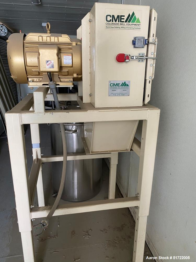 Used-CME Mill, Model VB.  20 HP, Carbon steel.