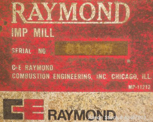 Used- Carbon Steel CE Raymond Imp Mill